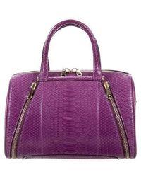VBH - Python Parker Bag Purple - Lyst