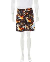 Givenchy - 2016 Collage Print Shorts - Lyst