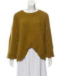 Theyskens' Theory - Knitted Sweater - Lyst