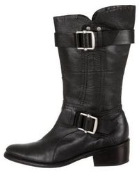 Vera Wang Lavender - Leather Pointed-toe Boots - Lyst