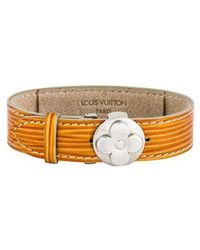 Louis Vuitton - Flower Wish Bracelet Silver - Lyst