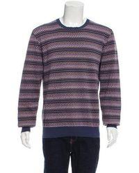 Louis Vuitton - Cashmere-blend Crew Neck Sweater - Lyst