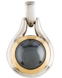 Tiffany & Co. - Hematite Pendant Silver - Lyst