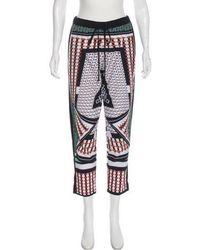 Clover Canyon - Printed Mid-rise Pants Multicolor - Lyst