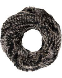 Yves Salomon - Knitted Fur Scarf - Lyst