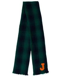 Jil Sander - Wool Plaid Scarf - Lyst