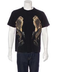 Neil Barrett - Bird Print T-shirt - Lyst
