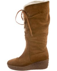 Kors by Michael Kors - Kors By Michael Suede Knee-high Boots Neutrals - Lyst