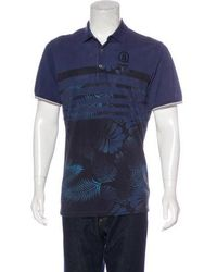 Bogner - Striped Printed Polo Shirt - Lyst