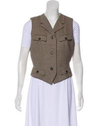 Icb - Wool Hounds Tooth Vest - Lyst