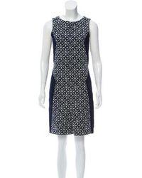 Rag & Bone - Embroidered Sleeveless Dress Navy - Lyst