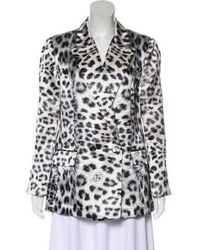 Thomas Wylde - Lightweight Silk Blazer W/ Tags Black - Lyst