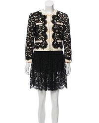 Moschino - Lace Skirt Suit - Lyst