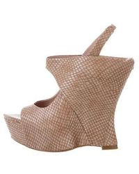 Alice + Olivia - Wedge Booties - Lyst