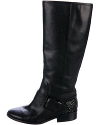 B Brian Atwood - Embellished Knee-high Boots - Lyst