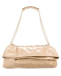 Thakoon - Distressed Leather Shoulder Bag Gold - Lyst