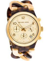 Michael Kors - Runway Watch Champagne - Lyst