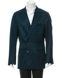 Haider Ackermann - Wool Sharks Petrol Sport Coat W/ Tags - Lyst