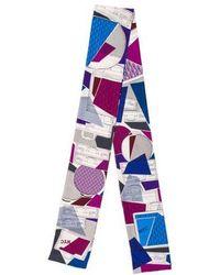 Carolina Herrera - Silk Printed Stole - Lyst