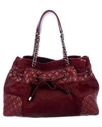 cc9be1f01db9 Lyst - Chanel Paris-dallas Ponyhair & Calfskin Flap Bag Black in ...