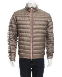 Moncler - Daniel Quilted Jacket Neutrals - Lyst