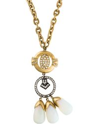 Lulu Frost - Big Bang Necklace Gold - Lyst