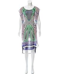 Clover Canyon - Sheer Printed Dress - Lyst