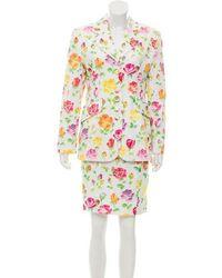 Dior - Structured Floral Suit Set - Lyst