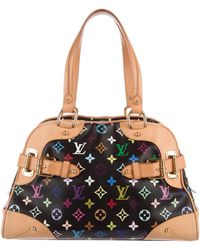 Louis Vuitton - Multicolore Claudia Bag Black - Lyst
