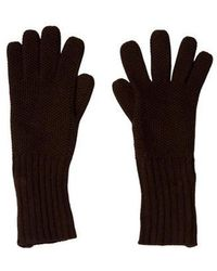 Loro Piana - Cashmere Embellished Gloves Brown - Lyst
