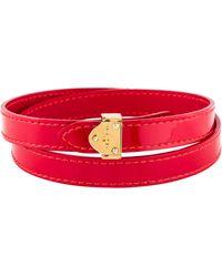 Louis Vuitton - Box It Wrap Bracelet Gold - Lyst