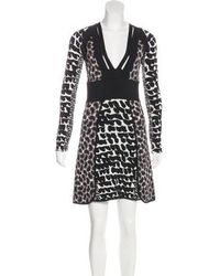Issa - Patterned A-line Dress - Lyst