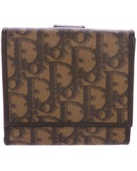 Dior - Diorissimo Compact Wallet Brown - Lyst