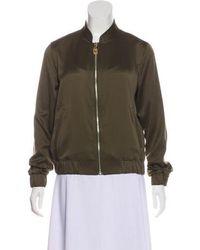 MICHAEL Michael Kors - Michael Kors Casual Zip-up Jacket Olive - Lyst