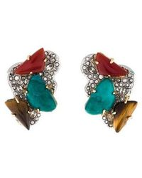 Alexis Bittar - Roxbury Cluster Clip-on Earrings Silver - Lyst