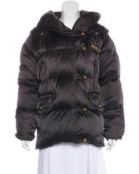 Sonia Rykiel - Hooded Down Jacket Brown - Lyst