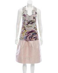 Christian Lacroix - Printed Knee-length Skirt Set Pink - Lyst