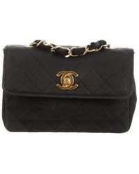 b230bb69ac0 Lyst - Chanel Small Quilted Boy Bag Black in Metallic
