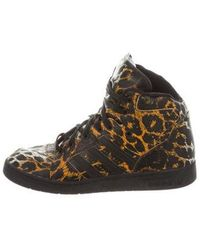 Jeremy Scott for adidas - Instinct High-top Sneakers - Lyst