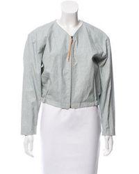 Samuji - Waxed Linen Jacket - Lyst