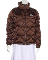 The North Face - Quilted Zip-up Jacket - Lyst