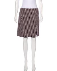 Wes Gordon - Virgin Wool Patterned Skirt - Lyst