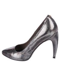 Just Cavalli - Pointed-toe Pumps Silver - Lyst