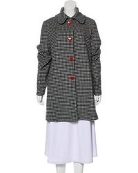 Love Moschino - Wool-blend Coat W/ Tags - Lyst