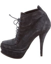 Elizabeth and James - Platform Ankle Boots - Lyst