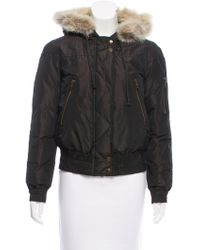 Kors by Michael Kors - Kors By Michael Fur-trimmed Down Jacket - Lyst