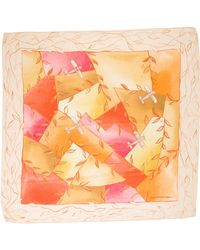 Louis Vuitton - Silk Printed Scarf Multicolor - Lyst
