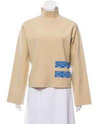 Nomia - Long Sleeve Mock Neck Top - Lyst