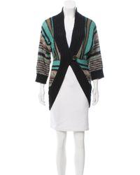 Dagmar - Striped Button-up Cardigan - Lyst
