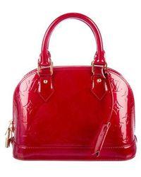 Louis Vuitton - Vernis Alma Bb Rouge - Lyst